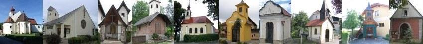 Alle Kirchen und Kapellen der Pfarre St.Valentin-Landschach